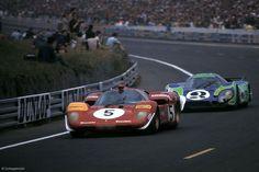 24 heures du Mans 1970 - Ferrari 512S & Porsche 917L