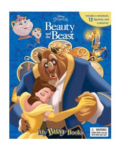 Phidal Publishing Beauty and the Beast Busy Book