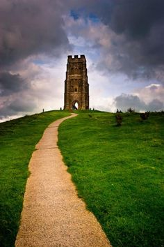 The Massive Glastonbury Tor On Top Of A Hill In Somerset  | Travel Dudes Social Travel Blog