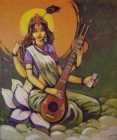 """Ernaste """"Nasimo"""" Nassimo - Mother Saraswati"""
