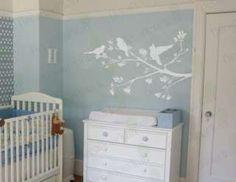 Tree Branch Bird Nursery Wall Decor Decal Vinyl Sticker