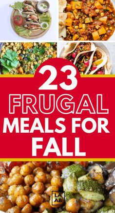 Here are 23 frugal dinner ideas for FALL and the busy back to school season. Save money with these cheap dinner ideas. Frugal Meals, Budget Meals, Frugal Recipes, College Recipes, Easy Meals, Inexpensive Meals, Freezer Meals, Budget Meal Planning, Cooking On A Budget