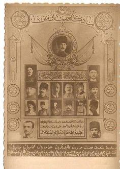 MİSAK-I MİLLİ TABLOSU World War I, World History, Art History, Historical Maps, Historical Pictures, Old Newspaper, Ottoman Empire, Coat Of Arms, Istanbul