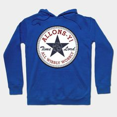 Allons-y! All Wibbly Wobbly Hoodie