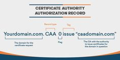 CAA DNS Record: Everything You Need to Know About it. Cyber Security Awareness, The Ca, Dns, Need To Know, Everything