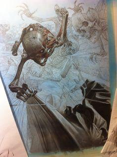 "ArtStation - Work in progress of ""Saria"" volume 3 , Riccardo Federici"
