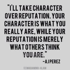 No match for character !