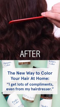 "Healthy Hair 251849804148945712 - Ditch the generic drugstore box and try this new DIY hair color: ""It was the exact hair color I was looking for but could not find. That in between color that you just can't get from store bought colors…"" Source by esalon Diy Hair Dye, Diy Hair Mask, Dyed Hair, At Home Hair Color, Color Your Hair, Diy Haarfärbemittel, Diy Crafts, Esalon Hair Color, Beauty Skin"