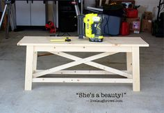 diy rustic wood bench, diy, painted furniture, rustic furniture, tools, woodworking projects, The before picture of the bench