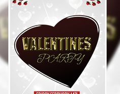 "Check out my @Behance project: ""valentine party flyer"" https://www.behance.net/gallery/13830085/valentine-party-flyer"