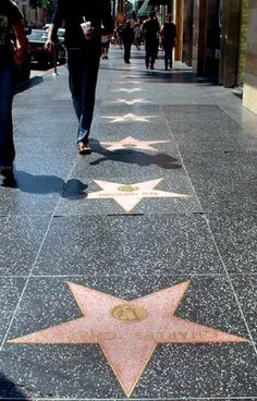 Hollywood Walk of Fame..where Hillary will reside someday