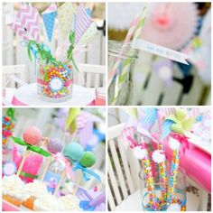Joanne of Oh Goodie Designs sent over this pinwheel party. I love when I start to receive pinwheel posts because it reminds me that spring is right around the corner. With a pretty pastel palette, this party is great inspiration for both spring and Easter entertaining. Joanne mixed different patternslike chevron, stripes, dots, and swirls …
