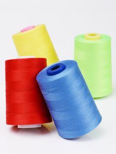 100% Spun Polyester Sewing Threads
