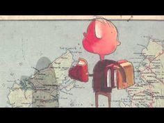 L'incredibile Bimbo mangia Libri - YouTube