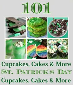 101 St Patrick's Day Cupcakes Cakes And More Cupcakepedia