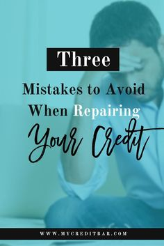 Everything you do that involves credit becomes part of your credit history. One simple mistake can make your credit score decrease quickly.  Bad credit makes many things difficult, impossible, or more expensive. It can keep you from buying a home, financing your education, and even from getting a job. This is why it's so important to build good credit.  Read More on The Blog: http://www.mycreditbar.com/blogposts/2016/9/5/t0waqhqyk9g5ry7hn3z21r7v7i8byf