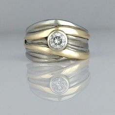 High Tide Engagement Ring
