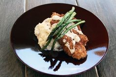 Parmesan-Panko Crusted Chicken with Lemon Butter Sauce - This was sooooo good!  Scott couldnt get enough, lol