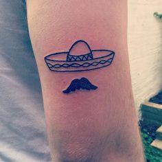 WEBSTA @ european.son.420 - Tattooed a sombrero and a moustache on the arm of a dude. Thank you @benjcooper ☕️#tattoo #tattoos #handpoke #handpoked #sticknpoke #stickandpoke #machinefree #sombrero #moustache #mexico #hat #black #ink #vsco #vscocam #instagram #хоумтату #ignorantstyletattoo #moustachetattoo #sombrerotattoo #dude #brighton #brightontattoo #uk #uktattoo #2016