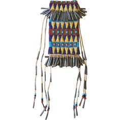 1880's Jicarilla Apache Beaded Bag from Uchizono Gallery Exclusively on Ruby Lane