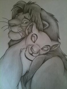 Disney Simba and Nala by Ellie580.deviantart.com on @deviantART