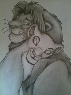 Disney Simba and Nala by Ellie580.deviantart.com on @deviantART