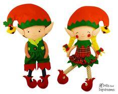 Elf Dolls by DollsAndDaydreams