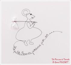 Wire Art by Un Rire sous la Tonnelle © Sonia FIQUET