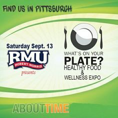 Find us in Pittsburgh September 13th 11am - 3 pm Robert Morris university Stop by and say hi #tryabouttime