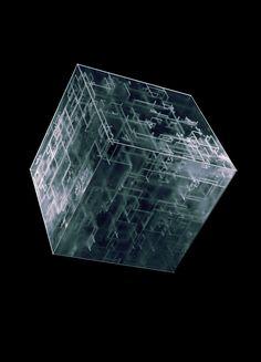 Vladislav Solovjov on Behance. borg cube from star trek, volara, tuvok, [china airlines. Vanitas, Rosen Box, Futuristic Art, Generative Art, 3d Artwork, 3d Prints, Motion Design, Geometric Shapes, Art Direction