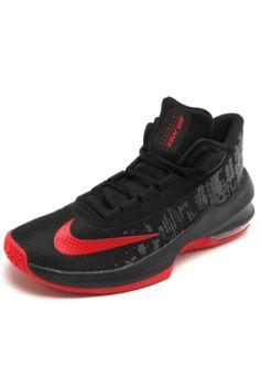 ef51b6c7c36 Tênis Nike Air Max Infuriate 2 Mid Preto