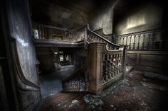 Abandoned manor house by andre govia., via Flickr