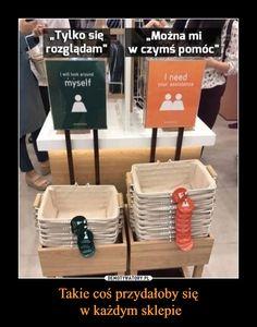 Takie coś przydałoby się w każdym sklepie – Funny Mems, Everything And Nothing, Wise Words, Einstein, Real Life, Life Hacks, Lol, Humor, Motivation