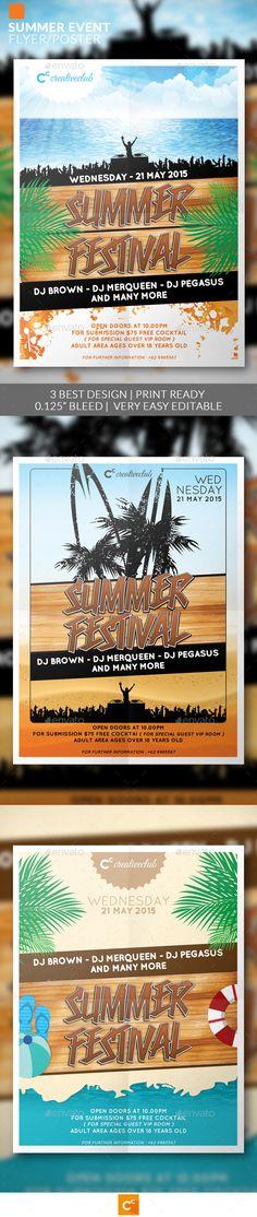 Summer Event Flyer/Poster