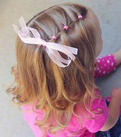 Meisjeskapsel little girl haordo. Today is little sis& last day of school fo., Meisjeskapsel little girl haordo. Today is little sis& last day of school fo. Meisjeskapsel little girl haordo. Today is little sis& last da. Easy Toddler Hairstyles, Baby Girl Hairstyles, Down Hairstyles, Trendy Hairstyles, Kids Hairstyle, Teenage Hairstyles, School Hairstyles, Toddler Hair Dos, Natural Hairstyles