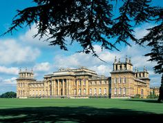 Blenheim Palace in Oxfordshire, England, Consuelo's beautiful incarceration.