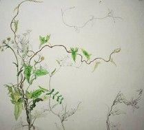 Chisako Fukuyama.  Watercolor,Pencil,  http://chisako-fukuyama.jimdo.com/works/pencil-drawings/pencil-drawing2/