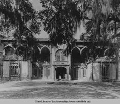 Afton Villa plantation in West Feliciana Parish Louisiana :: State Library of Louisiana Historic Photograph Collection