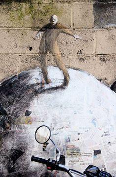 Artist :Philippe Herard #streetart jd