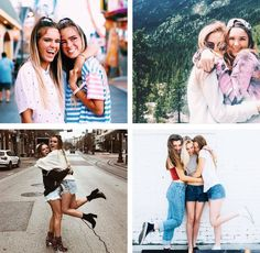 Veja 56 fotos com amigas, chame suas amigas, para você fazer muitas fotos ao lado da sua melhor amiga, suas amigas do colégio, suas primas ou colegas.