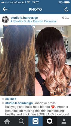 Really pretty ombre look