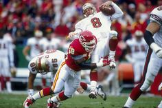 STEVE YOUNG GETTING CREAMED BY DERRICK THOMAS