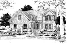 Main image for house plan # 5435