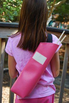 Pattern for archery quiver ikat bag: Patterns