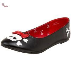 Funtasma PUNK14/B/PU Ballerines Femmes, Noir, 37 EU - Chaussures funtasma (*Partner-Link)