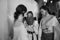 Fashion Times: Backstage. Ruban AW'17/18. Part II