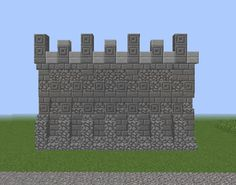 Middle Ages City Wall   GrabCraft   Your Number One Source For MineCraft  Buildings, Blueprints, Tips, Ideas, Floorplans!