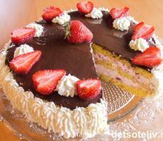 Bløtkaker | Det søte liv Danish Food, Cake Tutorial, Let Them Eat Cake, Cheesecake, Food And Drink, Baking, Desserts, Danish Recipes, Tailgate Desserts