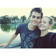 14 Adorable Pictures of Dylan O'Brien and Britt Robertson ❤ liked on Polyvore featuring dylan and dylan o'brien