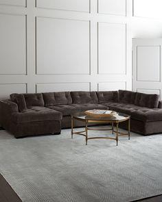 Old Hickory Tannery McLain Armless Sofa